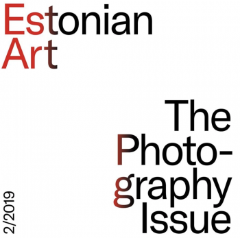 Estonian Art-Photography issue-cover