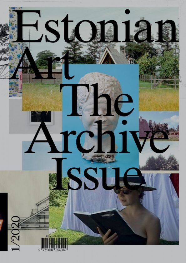 Estonian Art: The Photography Issue 1/2020